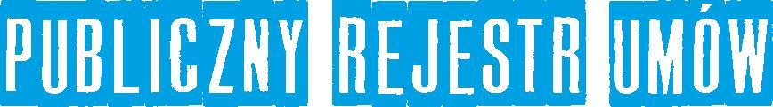 Logo Publiczny Rejestr Umów