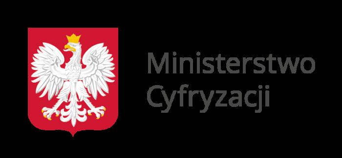 Identyfikacja Ministerstwa Cyfryzacji - dodatkowe logo nie było konieczne